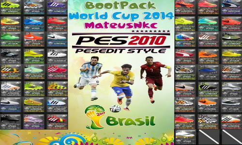 PES 2010 Boots Pack v1.0 World Cup 2014 by MateusNkc