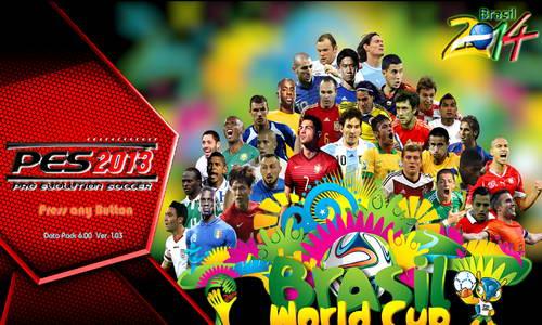 PES 2013 PESEdit Mega Patch Update 2.01 FIFA World Cup 2014 Ketuban Jiwa