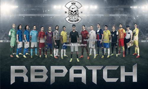 PES 2013 RBPatch v1 World Cup 2014 Edition by RomaBoy98