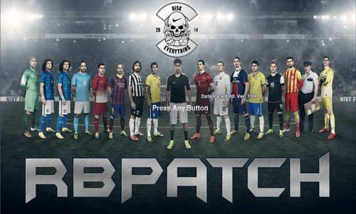 PES 2013 RBPatch v1 World Cup 2014 Edition by RomaBoy98 Ketuban Jiwa
