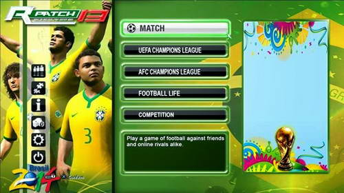 PES 2013 Rizki_2F Patch FIFA World Cup 2014 Edition+Fix Ketuban Jiwa SS1