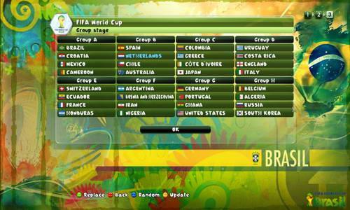 PES 2014 Fire Patch Update v5.1 World Cup 2014 Squads Ketuban jiwa