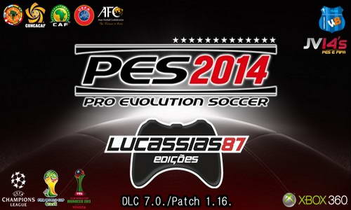 PES 2014 Option File XBOX360 (26-06-14) by Lucassias87 Ketuban Jiwa
