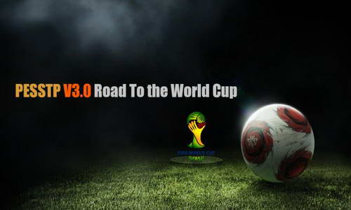 PES 2014 PESSTP Patch v3.0 World Cup 2014 by Tun Makers