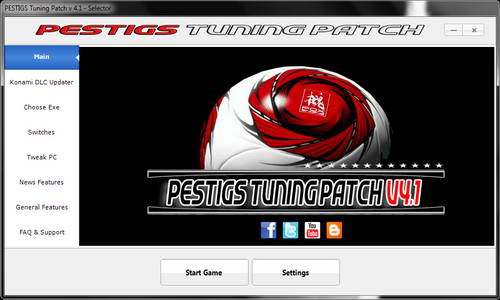 PES 2014 PESTIGS Tuning Patch 4.1 (DLC 6.10&1.13)