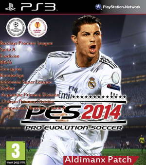 PES 2014 PS3 Aldimanx Patch Update 5.0+DLC 6.10-1.13 Ketuban jiwa