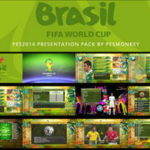 PES 2014 World Cup 2014 Presentation Pack by Pesmonkey
