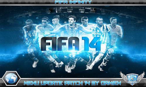 FIFA 14 Menu Update Fifa-Infinity Patch by Damien Multi Link Ketuban Jiwa