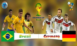 Full Match Brazil vs Germany WC14 Semi Finals HDTV Multi Link Ketuban Jiwa