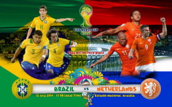 Full Match Brazil vs Netherlands WC14 Third Place HDTV Multi Link Ketuban Jiwa