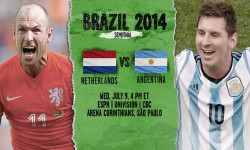 Full Match Netherlands vs Argentina WC14 Semi Finals HDTV Multi Link Ketuban Jiwa