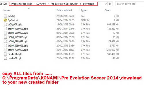 How to use PES 2014 Patch 1.13 &1.16 With Fileloader 1.2.0.9 by Hawke Ketuban Jiwa SS1