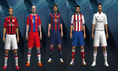PES 2009 Creative Patch v1.0 Season 2014/2015 Multi Link