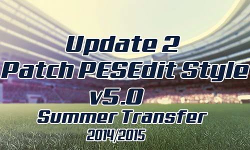 PES 2010 PESEdit Style v5.0 Update 1+2 Transfer 14-15 Ketuban Jiwa