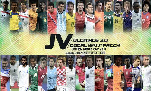 PES 2013 JV Ultimate Total Marfut Patch 3.0 World Cup 2014