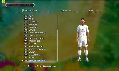 PES 2013 MPatch New Season 2014/2015 PESEdit Patch 6.0