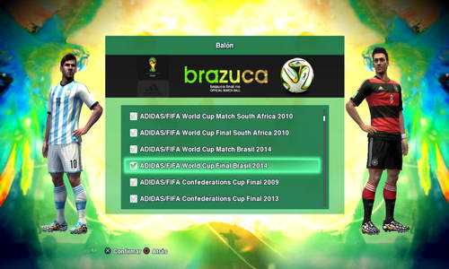 PES 2013 Pack of (166) Balls v1.5 FIFA WC14 by Nilton1248 Ketuban Jiwa