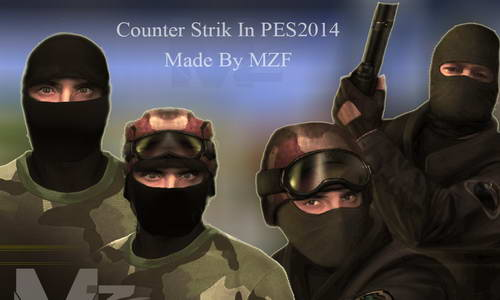 PES 2014 Counter Strike Mods by MZF Download Link Ketuban Jiwa