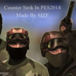 PES 2014 Counter Strike Mods by MZF Download Link