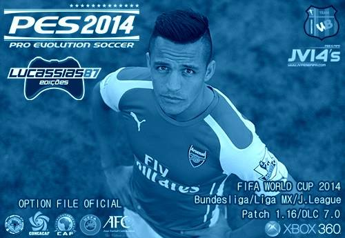 PES 2014 Option File XBOX360 (20/07/14) by Lucassias87