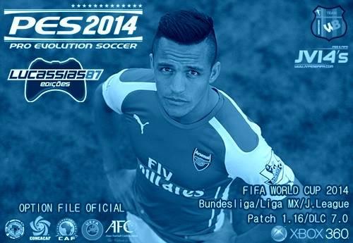 PES 2014 Option File XBOX360 (20-07-14) by Lucassias87 Ketuban Jiwa