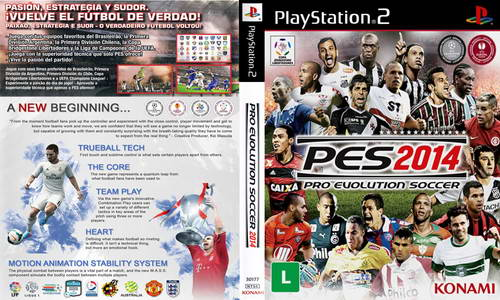 PES 2014 PS2/PSP World Cup Brazil Final Version by Kratos82