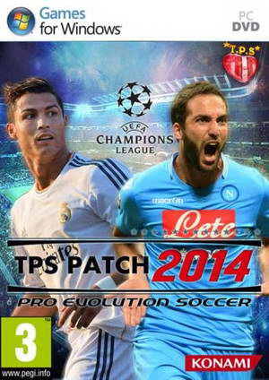 PES 2014 TPS Patch v1.3+Kits 2014-2015 by Cris-94 Ketuban Jiwa