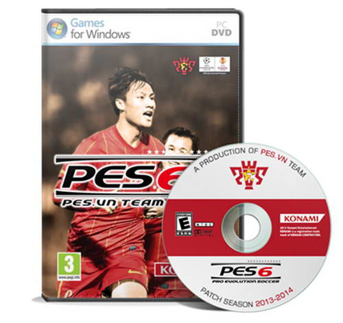 PES6 PES.VN Patch 13/14+Update FIFA World Cup 2014 Ketuban Jiwa