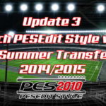 PES 2010 PESEdit Style v5.0 Update 3 Transfer 14/15