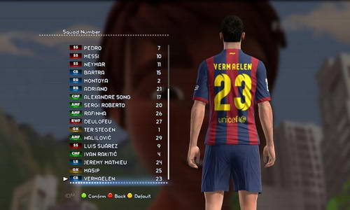 PES 2013 Option File Update 12.08.14 Sun Patch v4.0 by madn11
