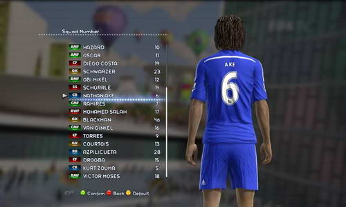 PES 2013 Option File Update 18.08.14 Sun Patch by madn11