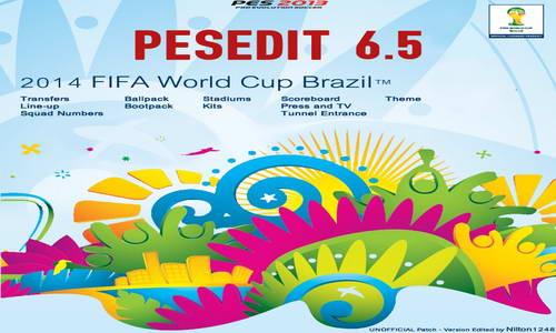 PES 2013 PESEdit Patch 6.5 FIFA World Cup 2014 Brazil Ketuban Jiwa