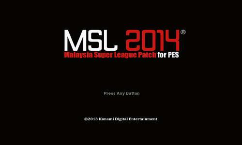PES 2014 MSL Malaysia Super League Patch v4.0 Season 14-15 Ketuban Jiwa