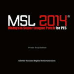 PES 2014 MSL Malaysia Super League Patch v4.0 Season 14/15