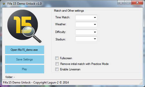 FIFA 15 Demo PC Unlock Setting by Lagun-2