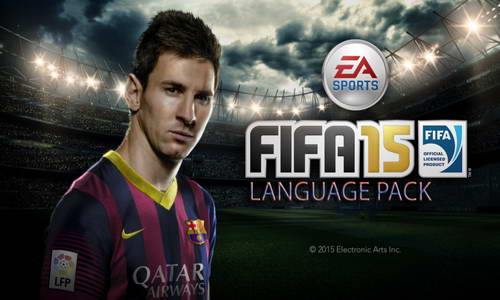FIFA 15 Language Pack (15 Laguages) Download Single Link