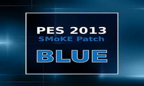 PES 2013 SMoKE Patch Blue Update 5.2.7 Season 2014/2015