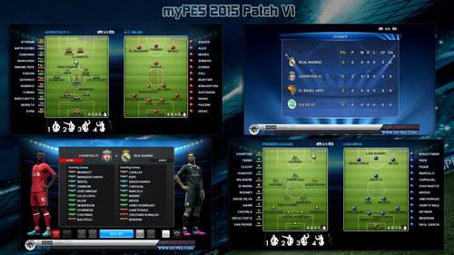 PES 2013 myPES Patch Update Season 2014-2015 Version 1 Ketuban Jiwa SS1