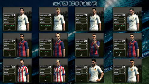 PES 2013 myPES Patch Update Season 2014-2015 Version 1 Ketuban Jiwa SS4