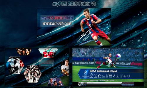 PES 2013 myPES Patch Update Season 2014-2015 Version 1 Ketuban Jiwa
