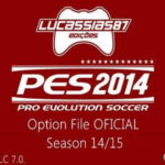 PES 2014 Option File XBOX360 (02/09/14) by Lucassias87