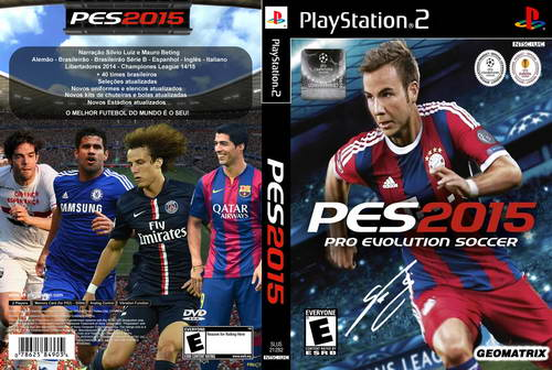 PES 2014 PS2 (PES 2015 Geomatrix) Season 14/15 Full Transfer