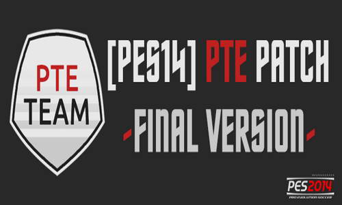 PES 2014 PTE Patch 1.7 Final Version Season 2014/2015