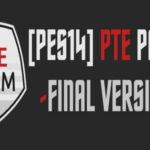 PES 2014 PTE Patch 1.7 Final Version Season 2014/2015