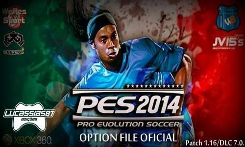 PES 2014 XBOX360 Option File Update 07/09/14 by Lucassias87
