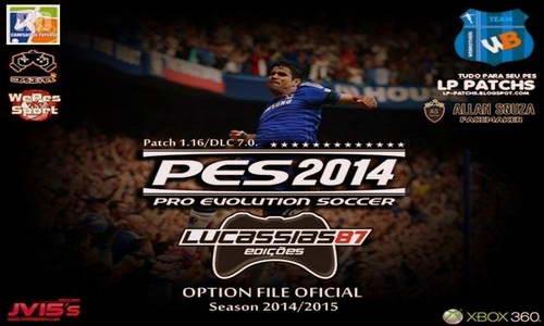 PES 2014 XBOX360 Option File Update 14-09-14 by Lucassias87 Ketuban Jiwa