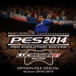 PES 2014 XBOX360 Option File Update 14/09/14 by Lucassias87