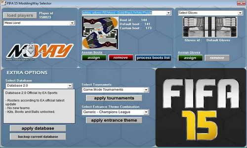 FIFA 15 ModdingWay Mod Patch Version 0.5.0 Multi Link