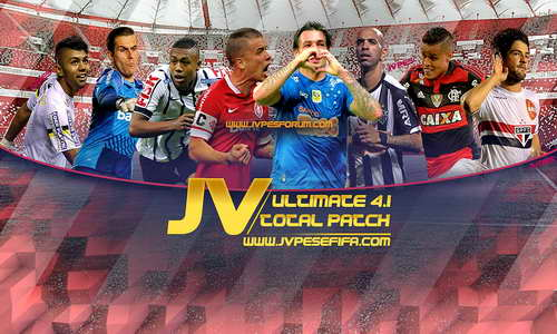 PES 2013 JV Ultimate Total Patch Update v4.1 Season 14/15