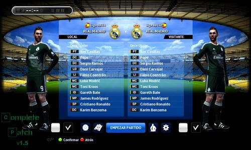 PES 2013 PESTN Complete Patch v1.5 Update 07/10/2014